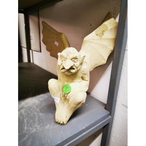 26 - Concrete Winged Gargoyle...