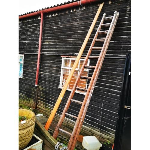 26 - Pine hand rail approx 3.2m long...