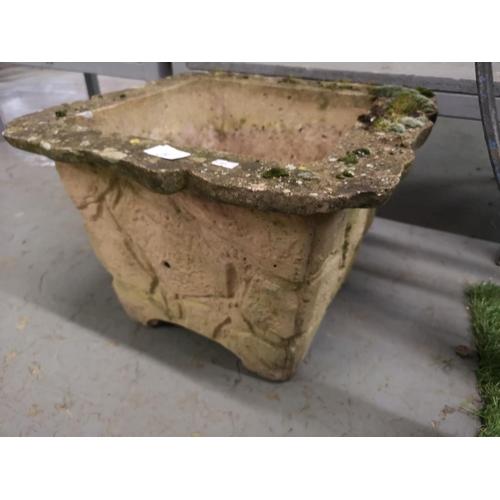 32 - Stoneware planter...