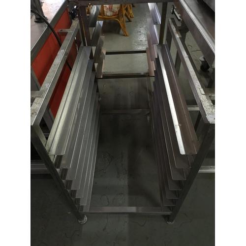 40 - S/Steel caterers rack...