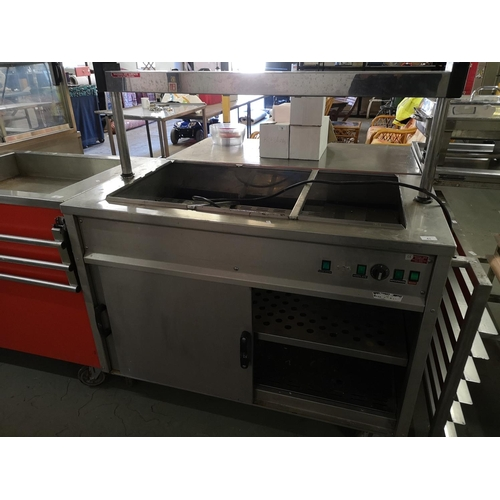 41 - 240v Heater hot plate/carver unit...