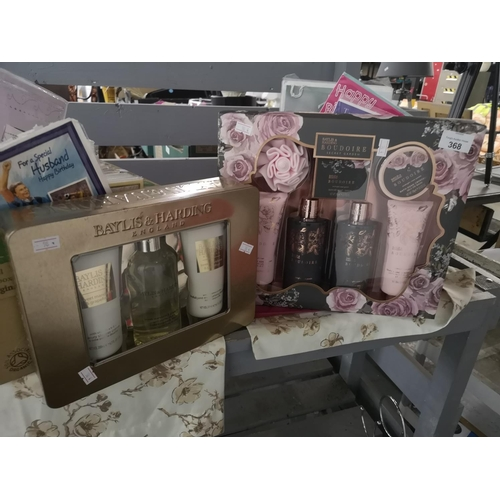 368 - Two Baylis and Harding gift sets...