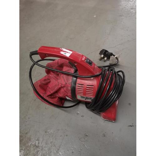 394 - Dirt devil hand held vacuum cleaner, ideal for cars etc....