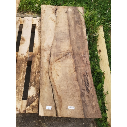49 - Three foot x 2 foot tree section plank - 2'' thick...