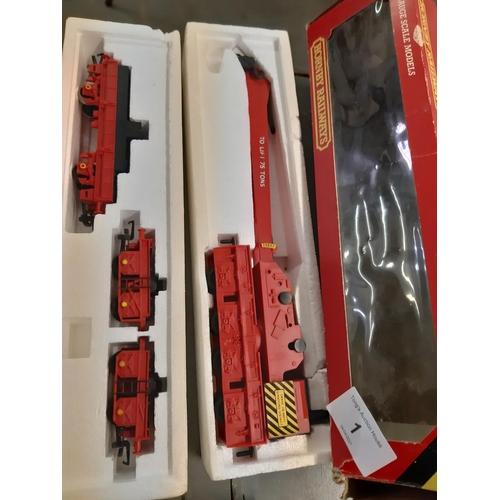 1 - Hornby Railways 00 operating breakdown crane boxed.