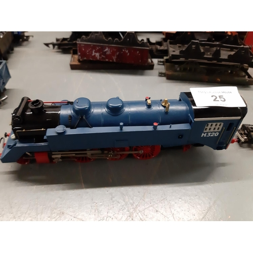 25 - HO Scale 464 continental loco