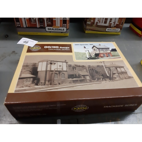 46 - Ratio Boxed GWR Signal box kit