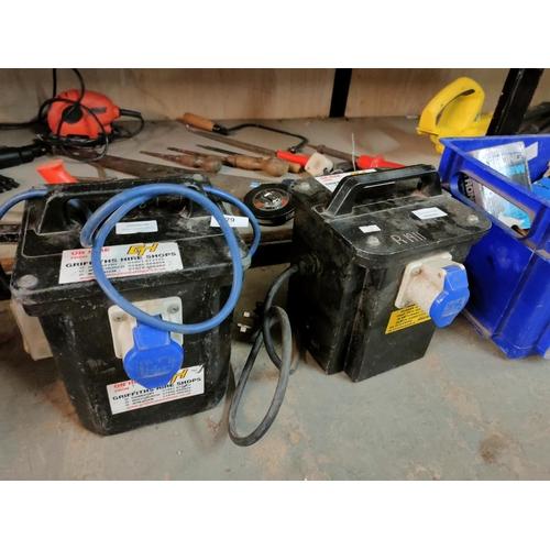 129 - Pair of Firmstone RCD splitter boxes good working order
