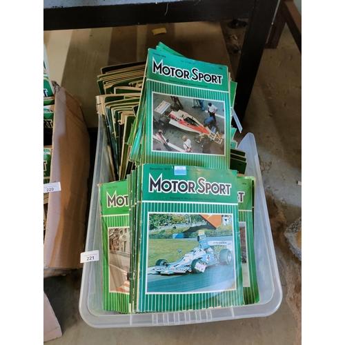 221 - Large quantity of Motor Sort magazines