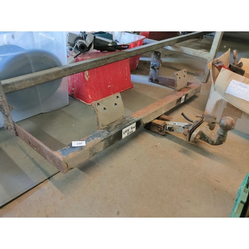 246 - van tow bar good solid one possibility ford transit