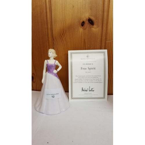 12 - ROYAL DOULTON FIGURINE