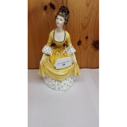 28 - ROYAL DOULTON FIGURINE