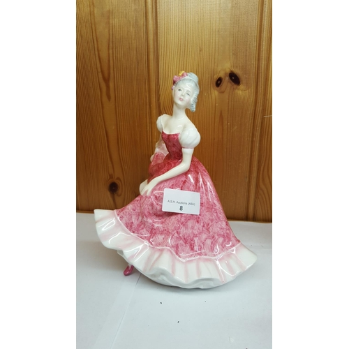 8 - ROYAL DOULTON FIGURINE