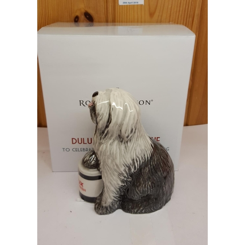 11 - ROYAL DOULTON MODEL OF A DULUX DOG (Made For One Year Only --To Celebrate 50 Years Of Dulux)  (Origi...