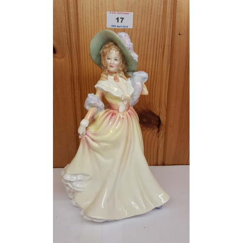 17 - ROYAL DOULTON Large 21cm FIGURINE
