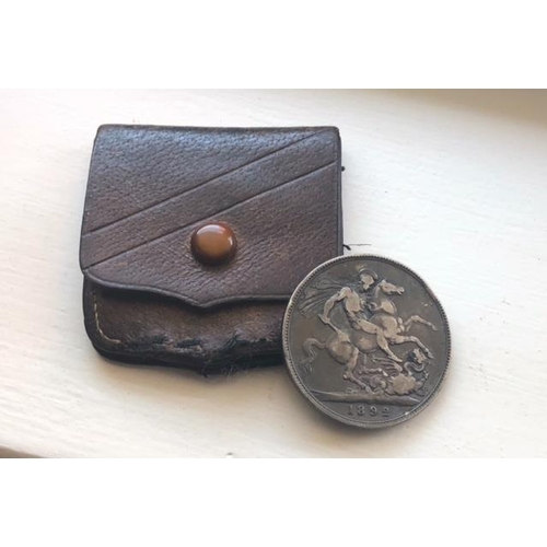 6 - QUEEN VICTORIA CROWN 1992 In Original Coin Pouch...