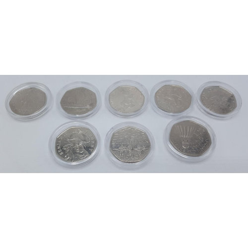 40 - COLLECTORS COINS (Set OF 8) To Include BEATRIX POTTER...