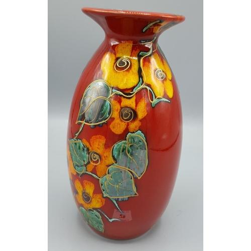 29 - ANITA HARRIS ART POTTERY FLOWER VASE...