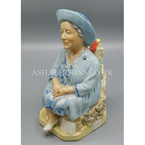 19 - KEVIN FRANCIS Large TOBY JUG 'THE QUEEN MOTHER'...