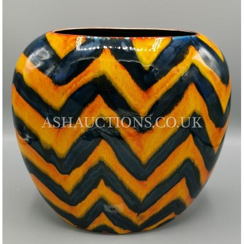 40 - ANITA HARRIS ART POTTERY Large PURSE VASE...