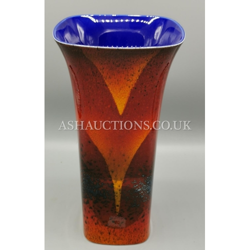 45 - ALAN CLARKE STUDIOS 30.5 cm FLARED VASE Limited Edition 20 This One Being No 1 Signed By Alan Clarke...