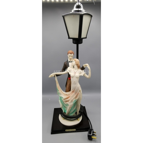 35A - JULLIANA DESIGN STUDIO'S FIGURINE LAMP. (Please Note This Lot Will NOT Be POSTED!!! ,Pick Up ONLY !!...