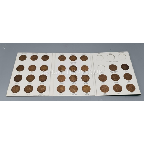 39 - GREAT BRITISH COIN COLLECTORS PENNIES 1926-1967...
