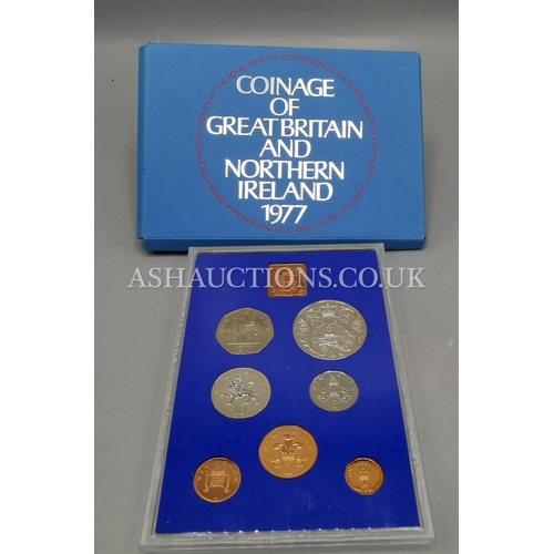 40 - COINAGE OF GREAT BRITAIN & NORTHERN IRELAND 1977 COLLECTION...