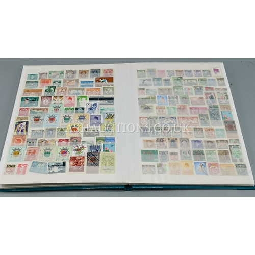641 - STAMP STOCK BOOK Full Of WORLD STAMPS...