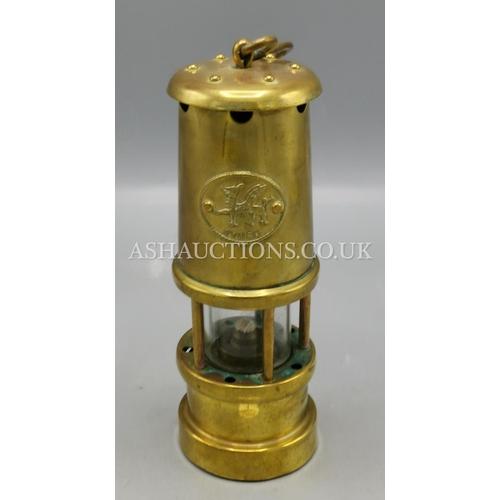 1 - WELSH MINER'S LAMP...