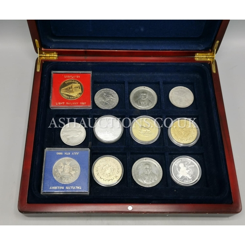 36 - BOX CONTAINING A Qty Of COLLECTABLE COINS...