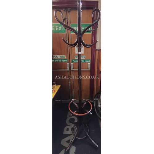 4 - BENTWOOD HAT AND COAT STAND (Original Label Still Attached)(Please Note This Lot WILL NOT BE POSTED....