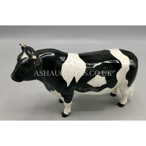 6 - BESWICK MODEL OF A FRIESIAN BULL  (With Faults)...