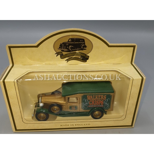 20A - CORGI DIE CAST METAL MODEL OF A FORD TRANSIT VAN 'A FRIEND Of THE FAMILY THE SENTINEL'. Plus LLEDO D...
