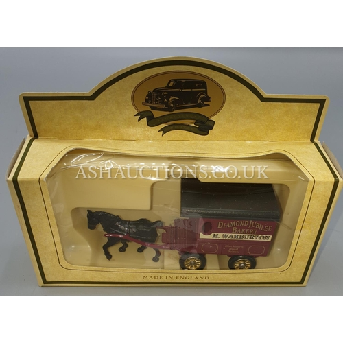 25A - LLEDO DIE CAST METAL MODEL OF A HORSE DRAWN CART 'RINGTONS TEA'. From The PROMOTIONAL MODEL DAYS GON...