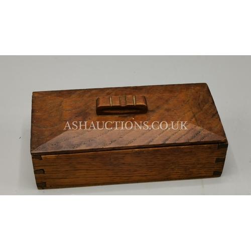21 - WOODEN ART DECO JEWELLERY BOX c1930s...