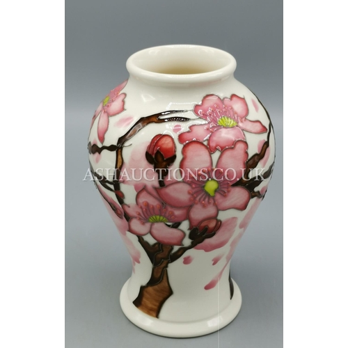 31 - MOORCROFT VASE IN THE