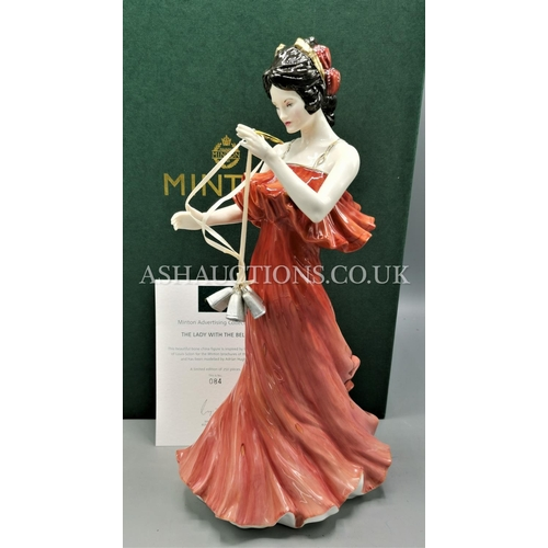 1 - MINTON CHINA Large FIGURINE