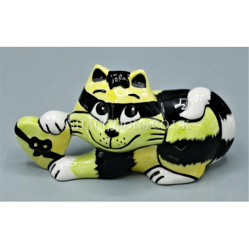72 - LORNA BAILEY MODEL OF A CAT (Limited Edition Colourway Of Only 5 Produced The Is One Being No 2) Sig...