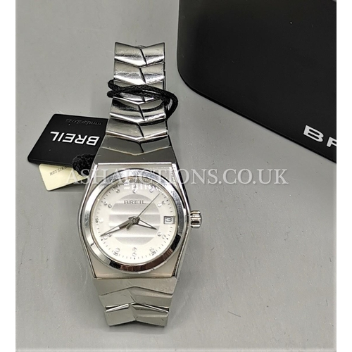 2 - PRESENTED AS A BREIL & SWAROVSKI CRYSTAL WATCH (Boxed, No Provenance)...