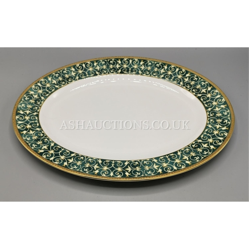 50 - WEDGWOOD CHINA OVAL PLATTER IN THE EVERLEIGH DESIGN...