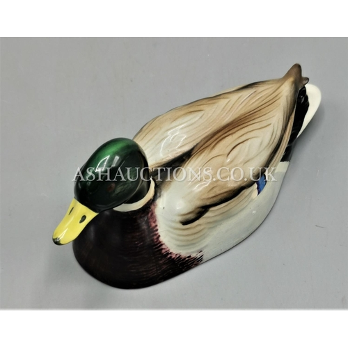 6 - BESWICK Medium 14cm  MODEL OF A DUCK Model No 1518 1958/71 Designed By Mr Arthur Gredington FOR THE ...
