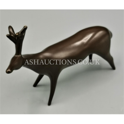 94 - BESWICK 14cm MODEL OF A REINDEER Model No 1481 (Series One,Third Variation) (Brown Satin Colourway) ...