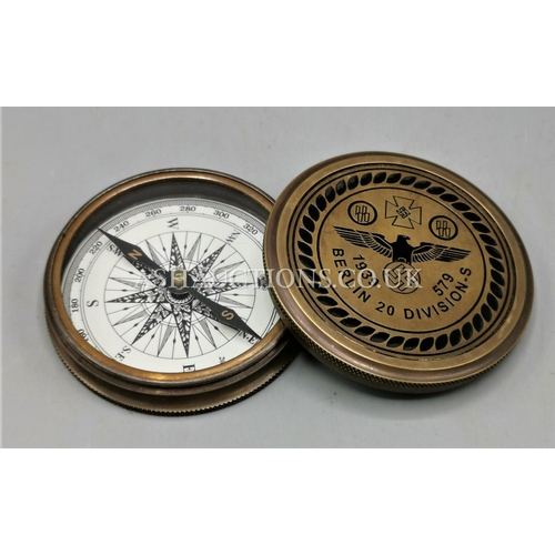 95 - GERMAN MILITARY COMPASS...
