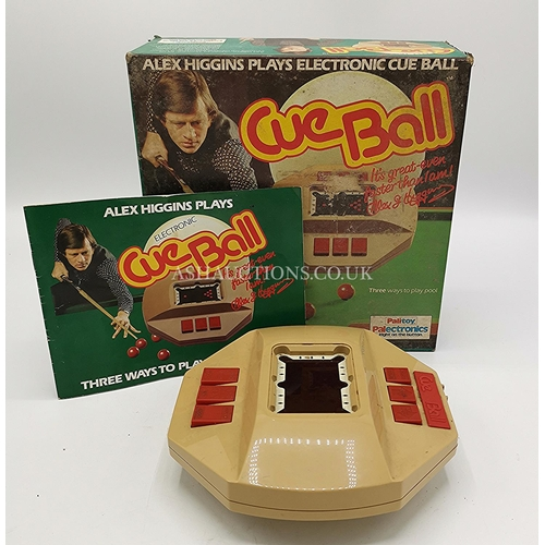 23 - PALITOY (Alex Higgins) ELECTRONIC CUE BALL GAME. c1980s (Original Box And Instructions) (When Batter...