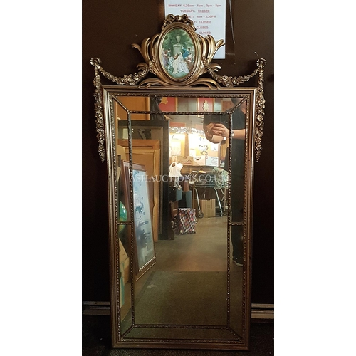 49 - ORNATE Extra Large  129cm x 63cm MIRROR (Please Note This Lot WILL NOT BE PACKED OR SHIPPED...PICK U...