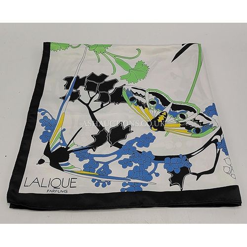 61 - PRESENTED AS A LALIQUE SCARF  (No Provenance)...