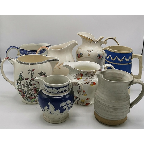 49 - COPELAND SPODE,JOHNSON Bros,ROYAL DOULTON,Etc JUGS (8) (Please Note This Lot WILL NOT BE PACKED OR S...