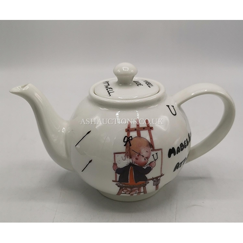 11 - SHELLEY CHINA MABEL LUSIE ATTWELL TEAPOT...