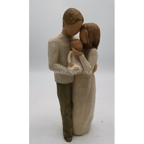 29 - WILLOW TREE Large 22cm CHARACTER FIGURINE